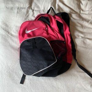 Pink Nike book bag